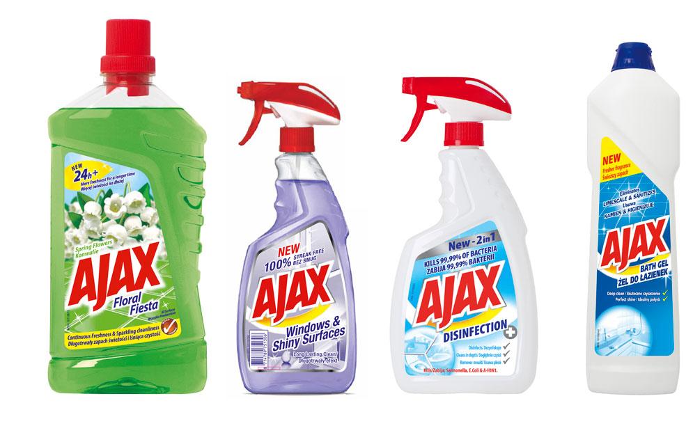 (beigusies) Pavasara tīrīšana ar Ajax - Loterijas.lv
