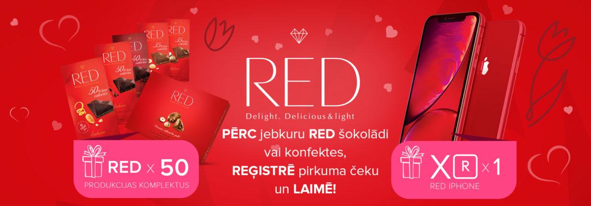 RED piepilda sapņus!