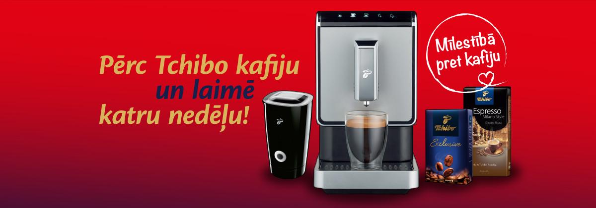 Pērc Tchibo kafiju un laimē!