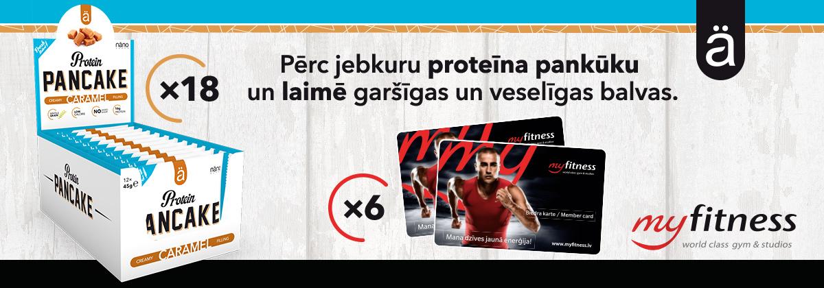 Ä Proteīna pankūku loterija