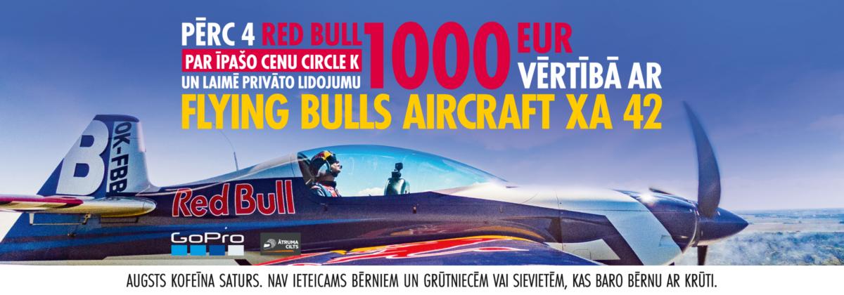 Red Bull loterija Circle K
