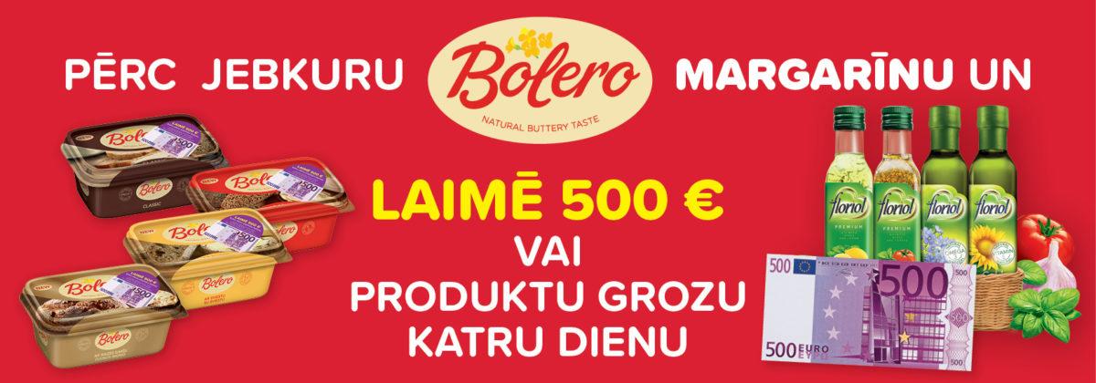 Laimē ar Bolero!