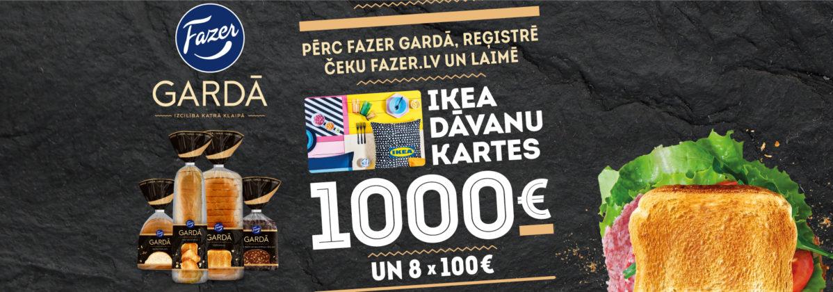 Vēl gardāk, kad mājīgāk! Laimē 1000 EUR no IKEA