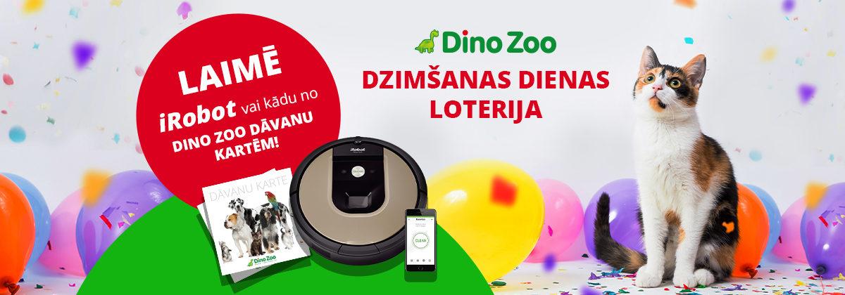 Dino Zoo dzimšanas dienas loterija