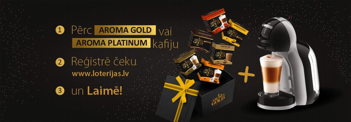 Aroma Gold loterija