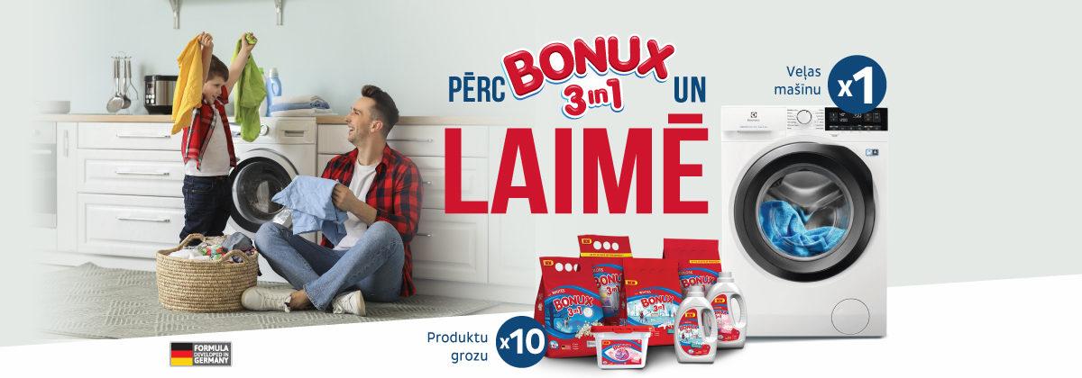 BONUX loterija veikalos Maxima