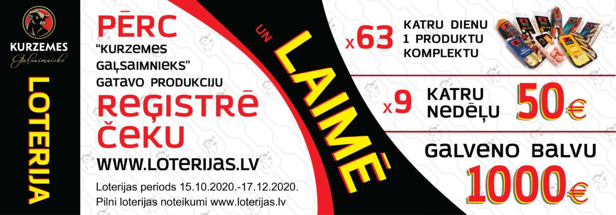 Kurzemes Gaļsaimnieks vislatvijas loterija