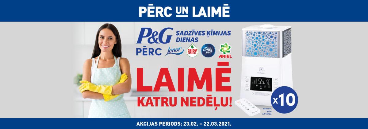P&G sadzīves ķīmijas dienas