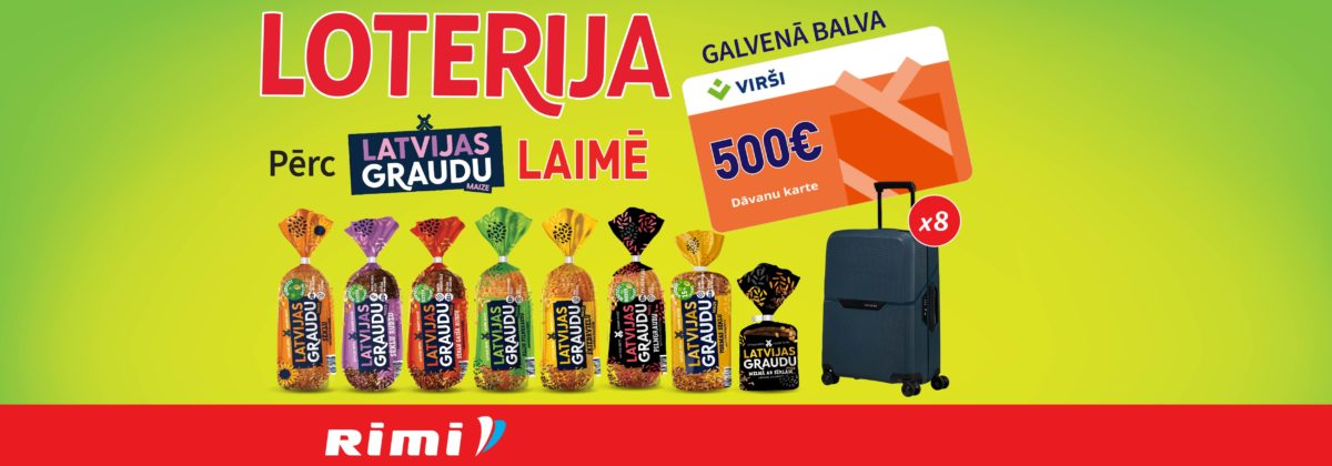 Latvijas Graudu maizes loterija Rimi